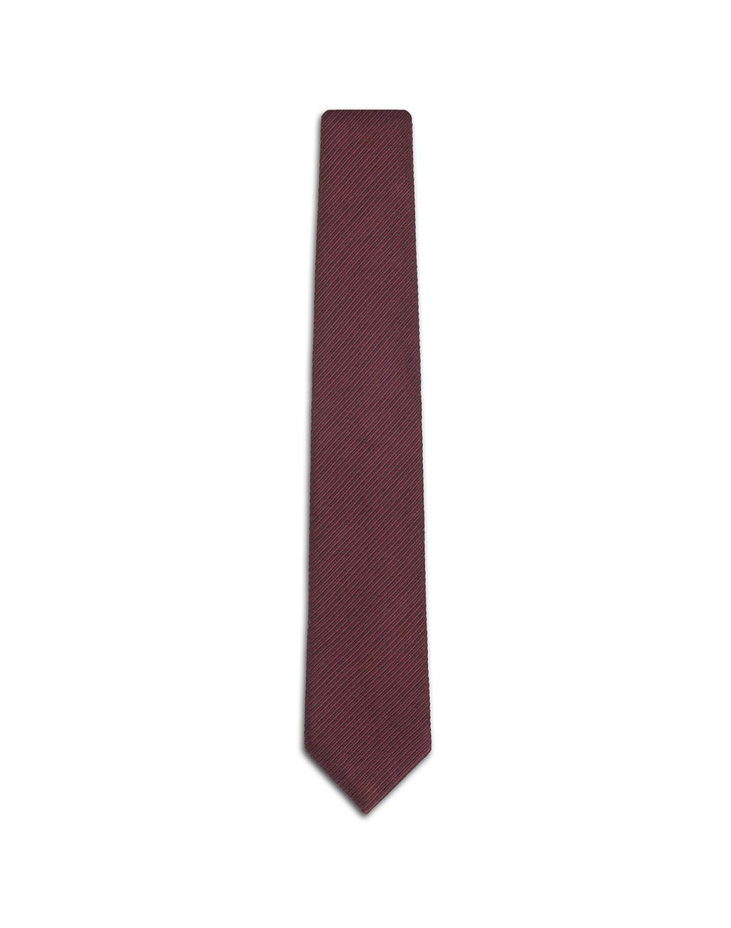 BRIONI Bordeaux Striped Tie Tie Man f