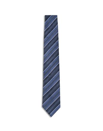 Midnight Blue and Royal Blue Regimental Tie