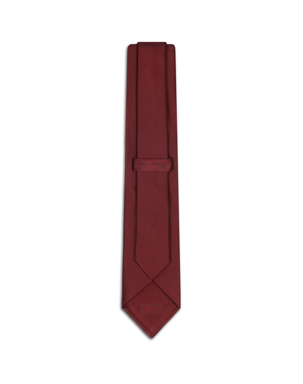 BRIONI Cravate tissée bordeaux Cravate Homme r