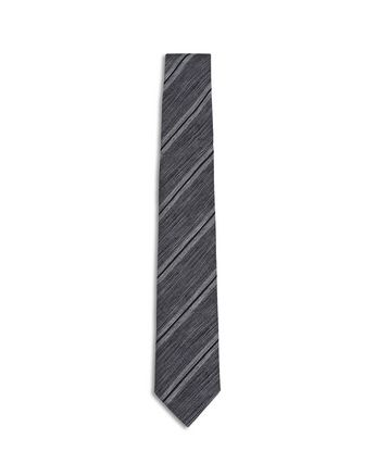 Beige and Gray Regimental Tie