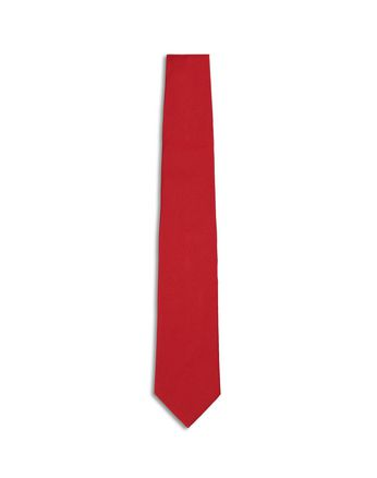 Red Twill Tie