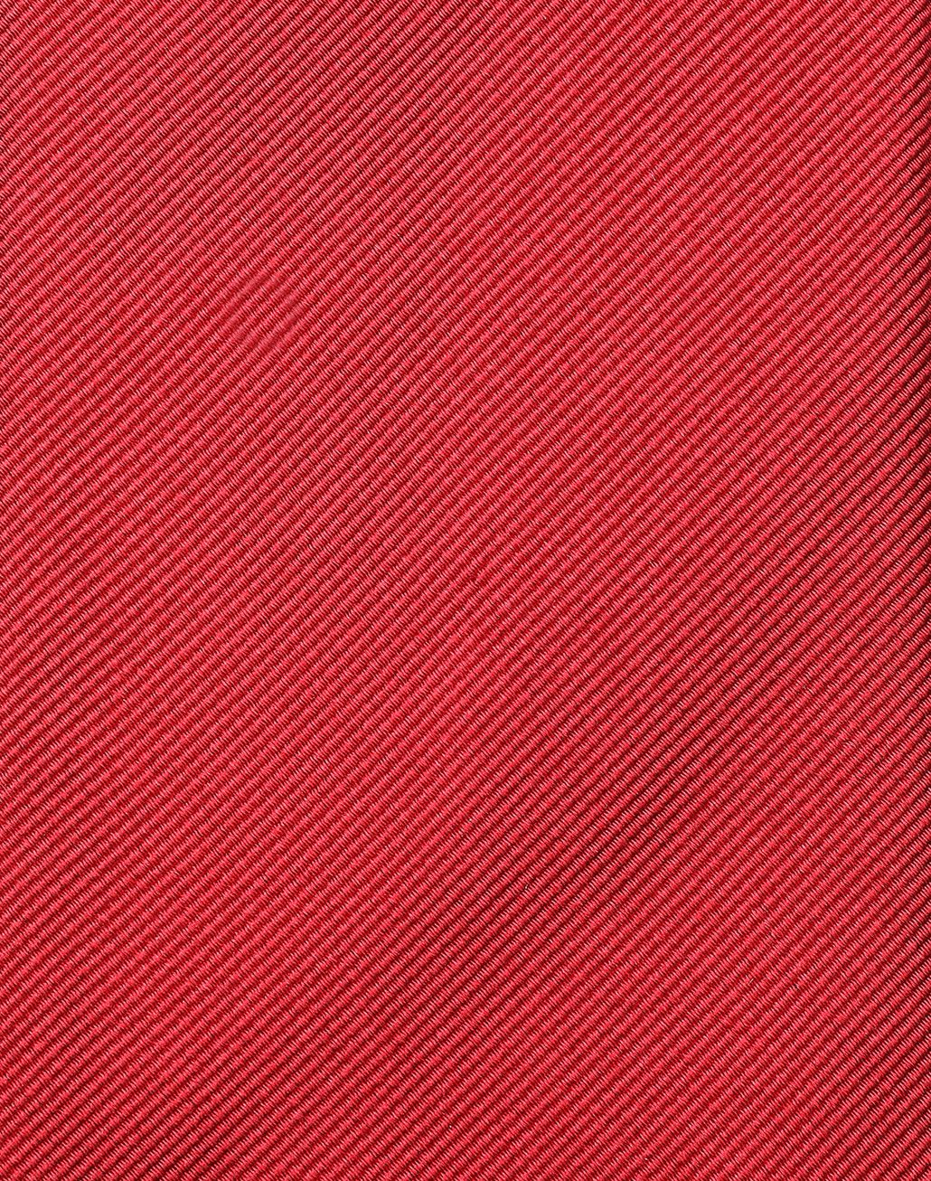BRIONI Red Twill Tie Tie Man e