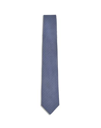 Royal Blue Macro Design Tie