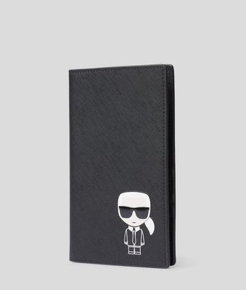 KARL LAGERFELD K/IKONIK TRAVEL WALLET