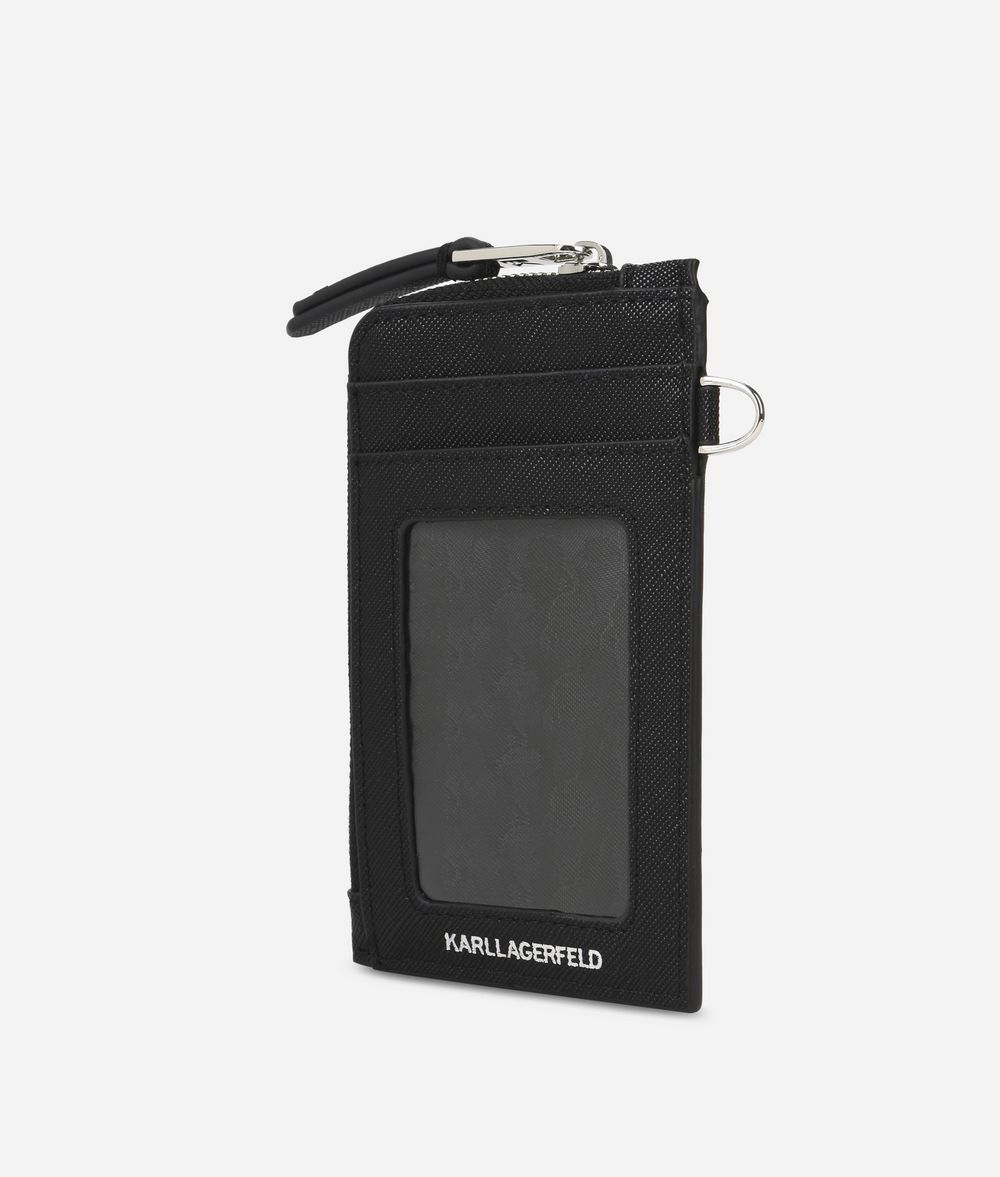 KARL LAGERFELD K/Ikonik Card Holder Cardholder Woman d