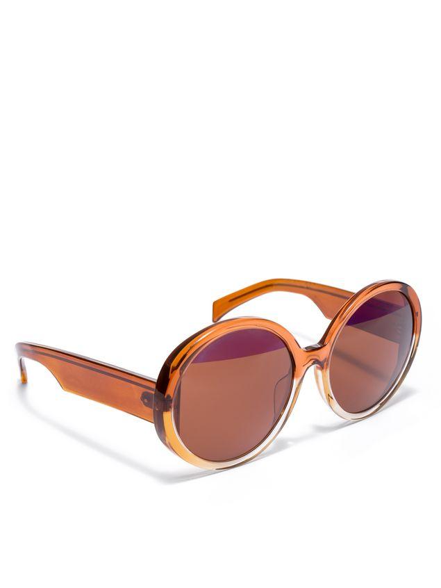 Marni MARNI MIRO' sunglasses in brown acetate Woman - 2