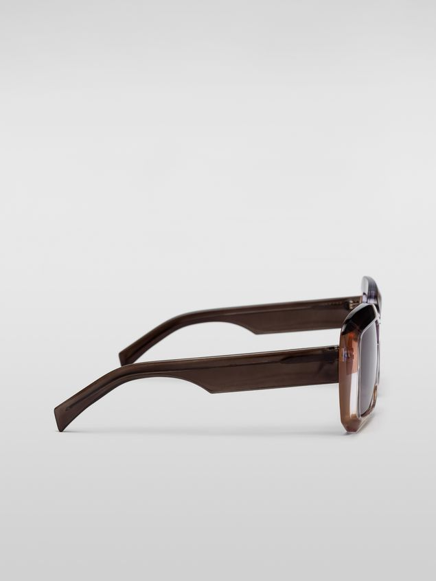 Marni MARNI ROTHKO sunglasses in acetate grey Woman - 3