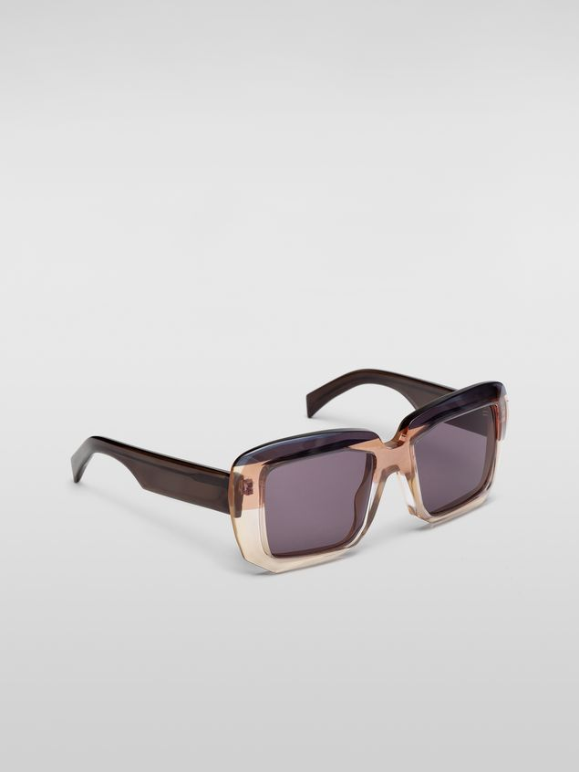 Marni MARNI ROTHKO sunglasses in gray acetate Woman - 2