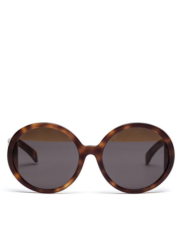Marni MARNI MIRO' sunglasses in tortoiseshell acetate Woman - 1