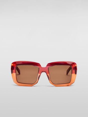 Marni MARNI ROTHKO sunglasses in acetate pink Woman