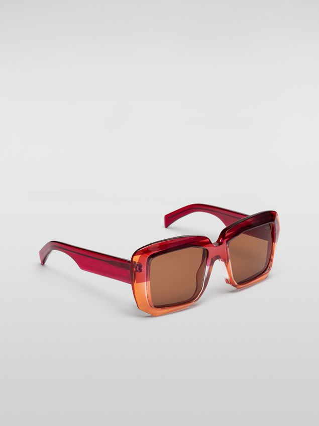 Marni MARNI ROTHKO sunglasses in pink acetate Woman - 2