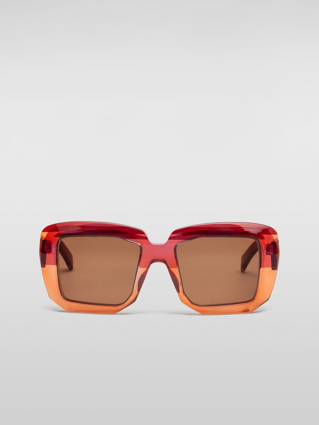 Marni MARNI ROTHKO sunglasses in pink acetate Woman - 1