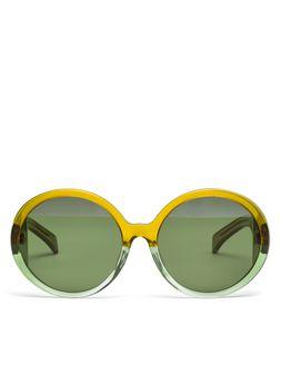 Marni MARNI MIRO' sunglasses in green acetate Woman