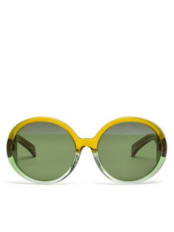 Marni MARNI MIRO' sunglasses in acetate green Woman