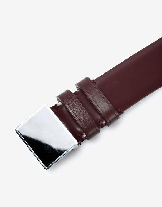 MAISON MARGIELA Box leather belt Belt [*** pickupInStoreShippingNotGuaranteed_info ***] d