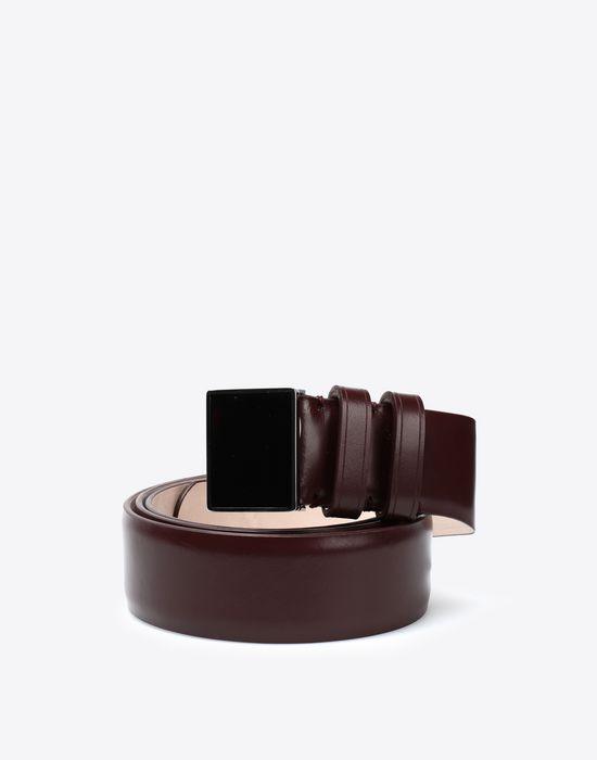 MAISON MARGIELA Box leather belt Belt [*** pickupInStoreShippingNotGuaranteed_info ***] f