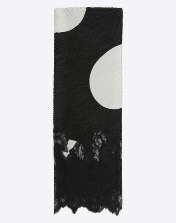 "VALENTINO Foulard D Modal and cashmere shawl 140x140cm / 55x55"" f"