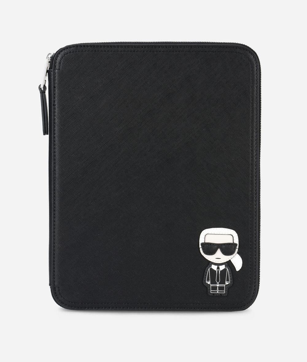 KARL LAGERFELD K/Ikonik iPad Organizer Pouch Woman f