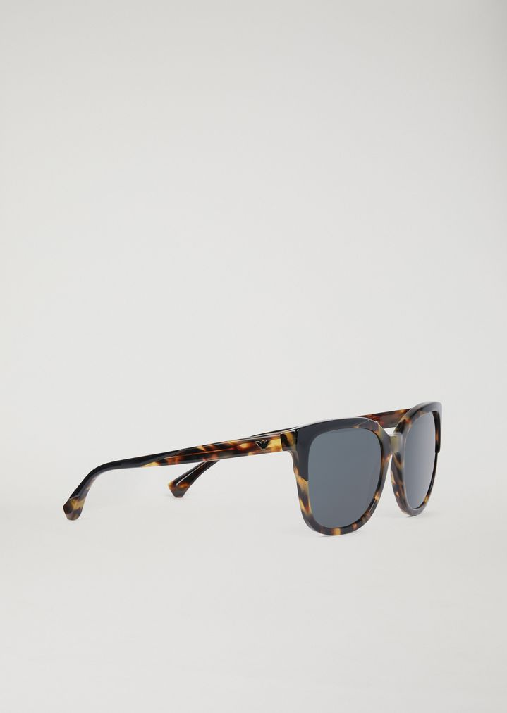 9382cc33ce Tortoiseshell sunglasses with logo detail