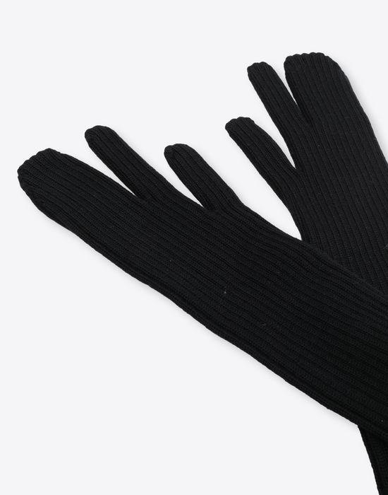 MAISON MARGIELA Ribbed long knit gloves Gloves [*** pickupInStoreShipping_info ***] d