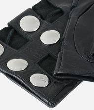 KARL LAGERFELD K/Snaps Leather Gloves 9_f