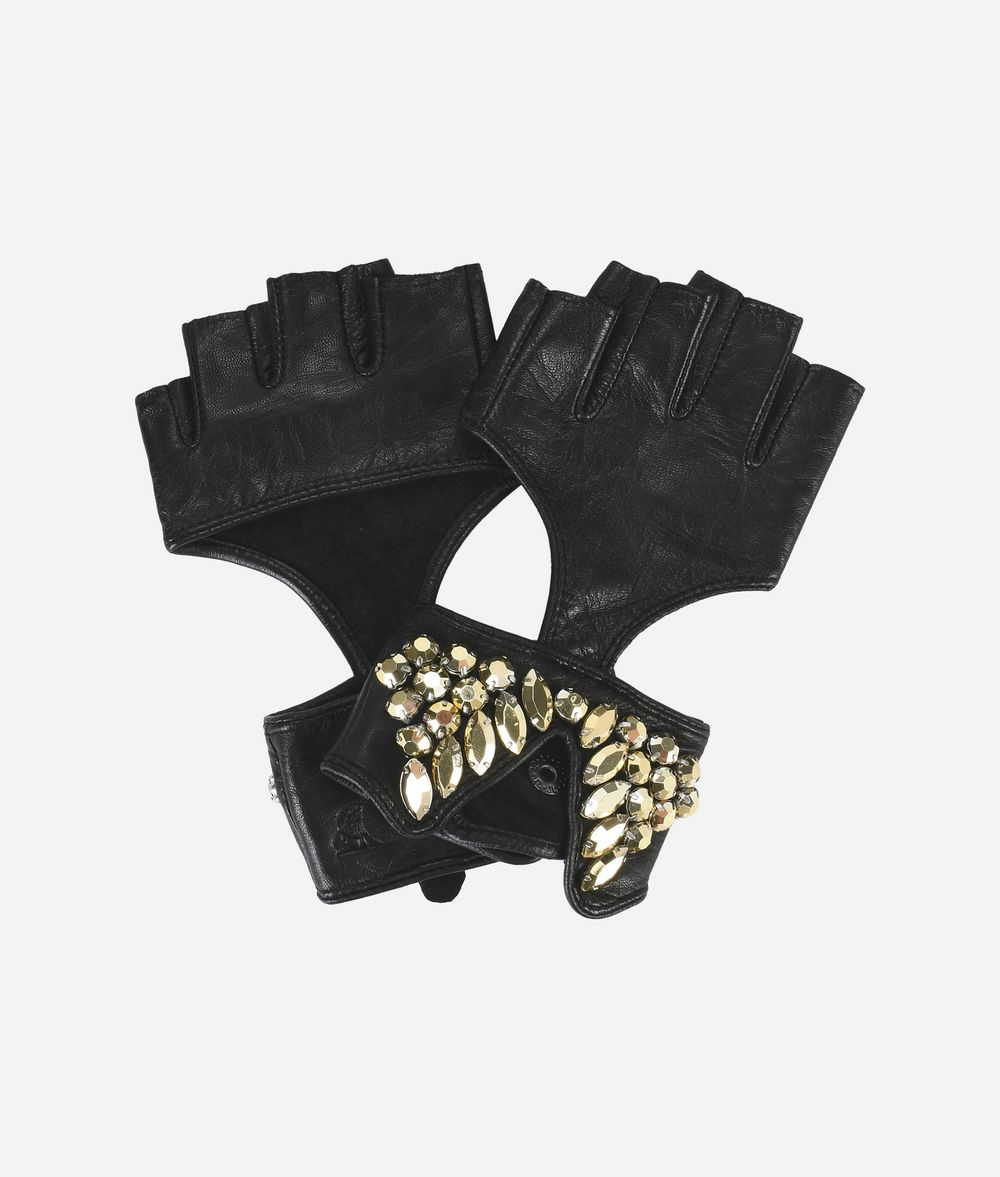KARL LAGERFELD K/Party Leather Glove Glove Woman f