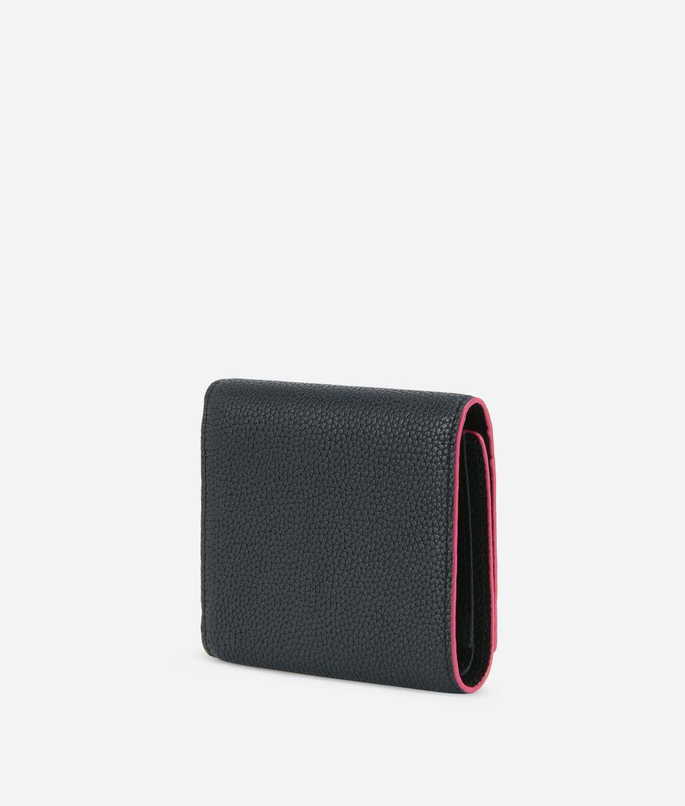 KARL LAGERFELD K/Karry All Leather Fold Wallet Wallet Woman d