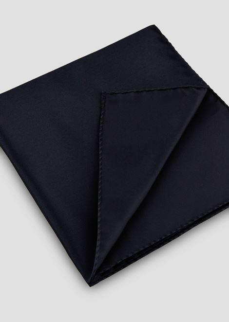 Pocket square in pure silk satin