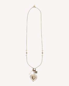 REDValentino RED SIGNS PENDANT NECKLACE