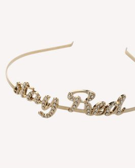 REDValentino RED SIGNS HEADBAND