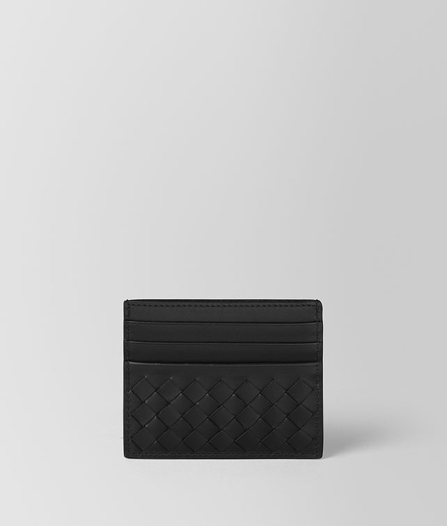 BOTTEGA VENETA NERO INTRECCIATO VN CARD CASE Card Case or Coin Purse Man fp