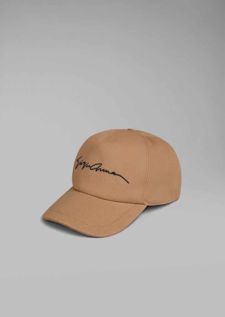 943bbb5023f GIORGIO ARMANI Cap with embroidered logo Cap Man f ...