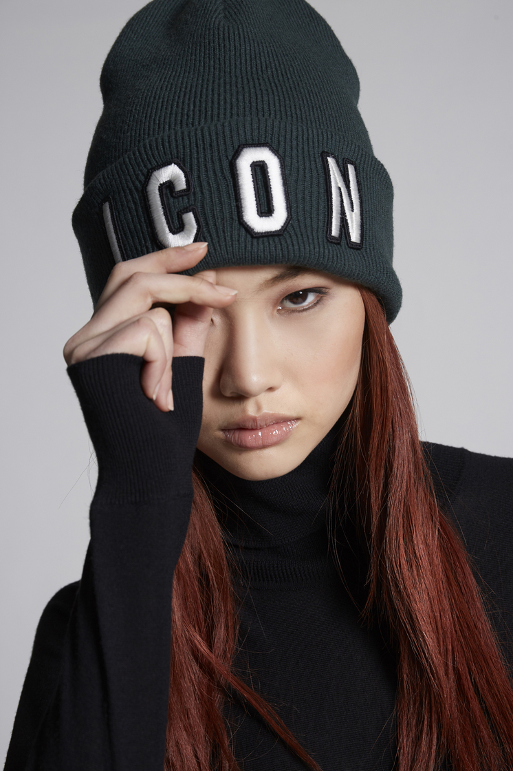 DSQUARED2 Icon Beanie Hat Man