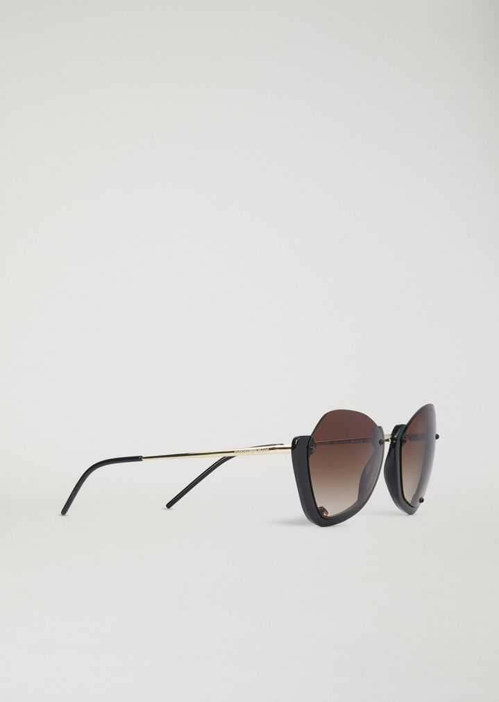 e2716981f6e Sunglasses with half frame