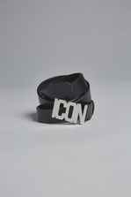 DSQUARED2 Icon Plaque Belt Belt Woman