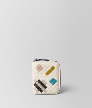 MIST INTRECCIATO ABSTRACT COIN PURSE
