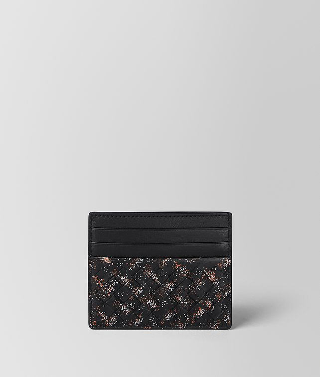 BOTTEGA VENETA MULTICOLOR INTRECCIATO MICRODOTS CARD CASE Card Case or Coin Purse [*** pickupInStoreShippingNotGuaranteed_info ***] fp