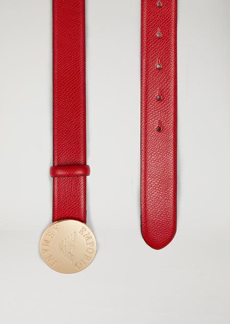 ベルト ロゴメダル