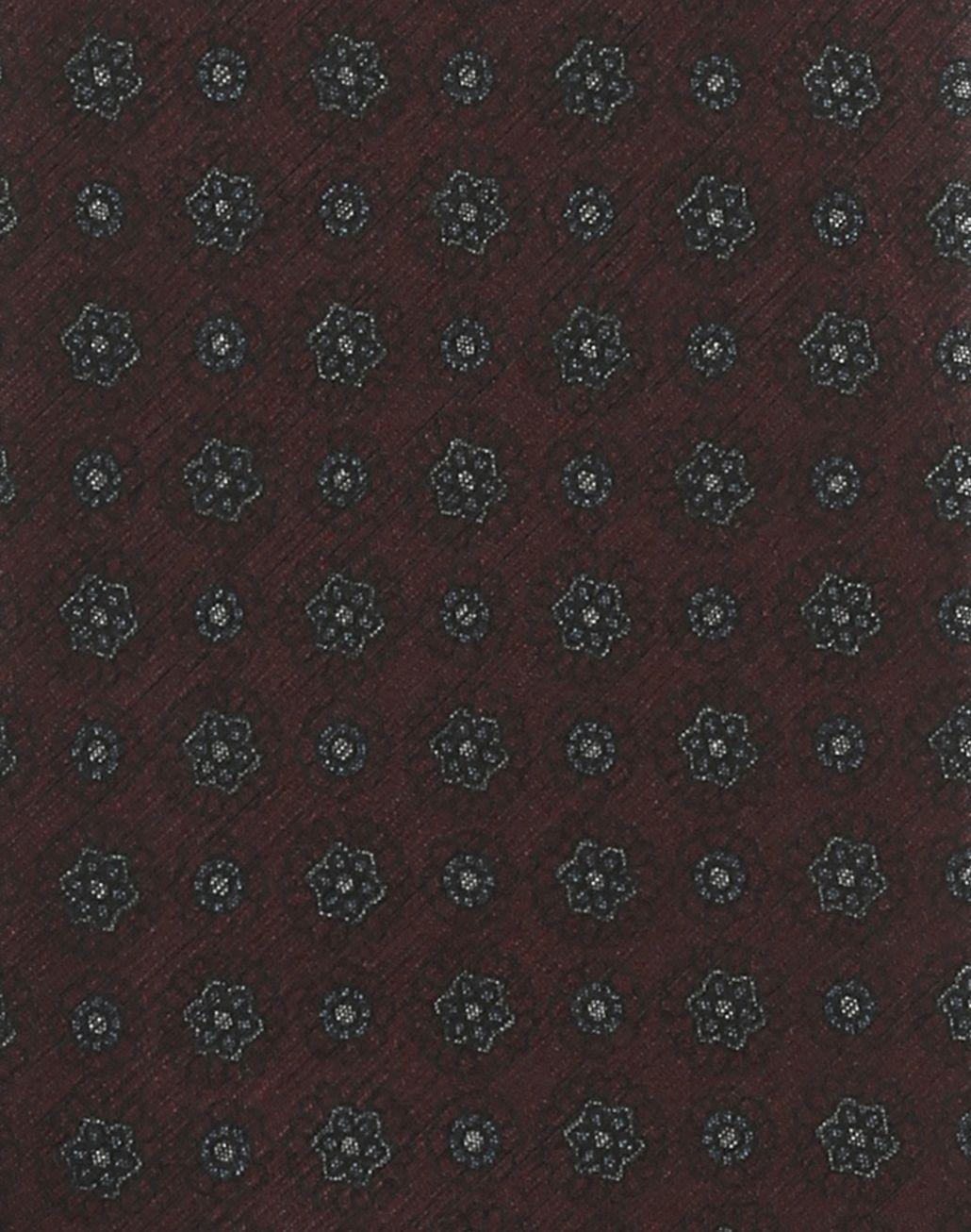 BRIONI Галстук пурпурного цвета с макроузором Галстук Для Мужчин e