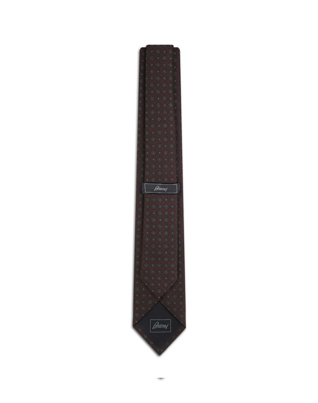 BRIONI Krawatte in der Farbe Amaranth mit großem Muster Krawatte [*** pickupInStoreShippingNotGuaranteed_info ***] r