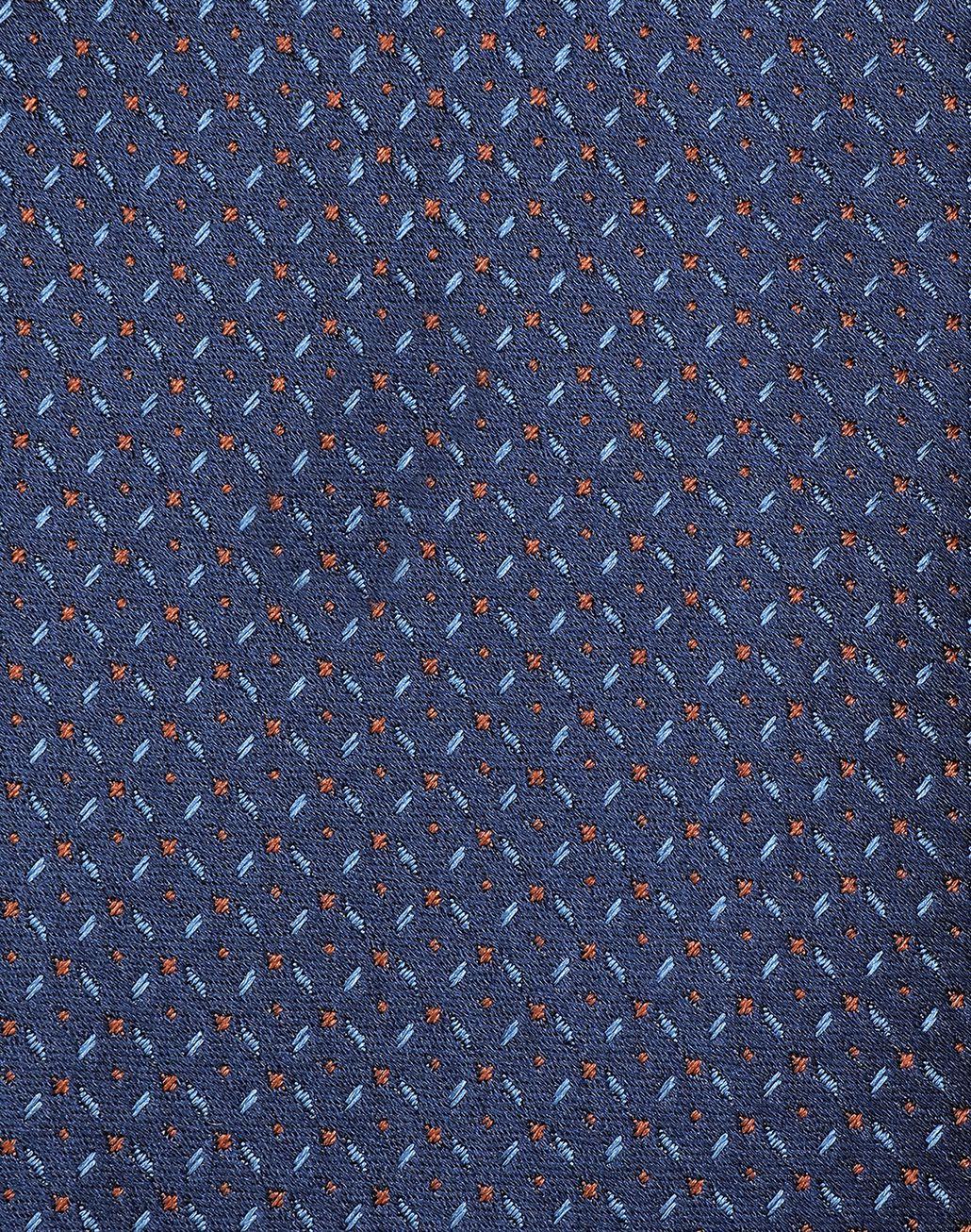 BRIONI Синий узорчатый галстук с эффектом деграде Галстук [*** pickupInStoreShippingNotGuaranteed_info ***] e