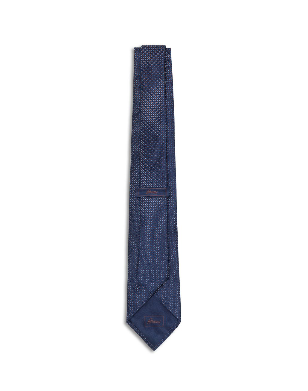 BRIONI Blue Designed Degradè Tie Tie [*** pickupInStoreShippingNotGuaranteed_info ***] r