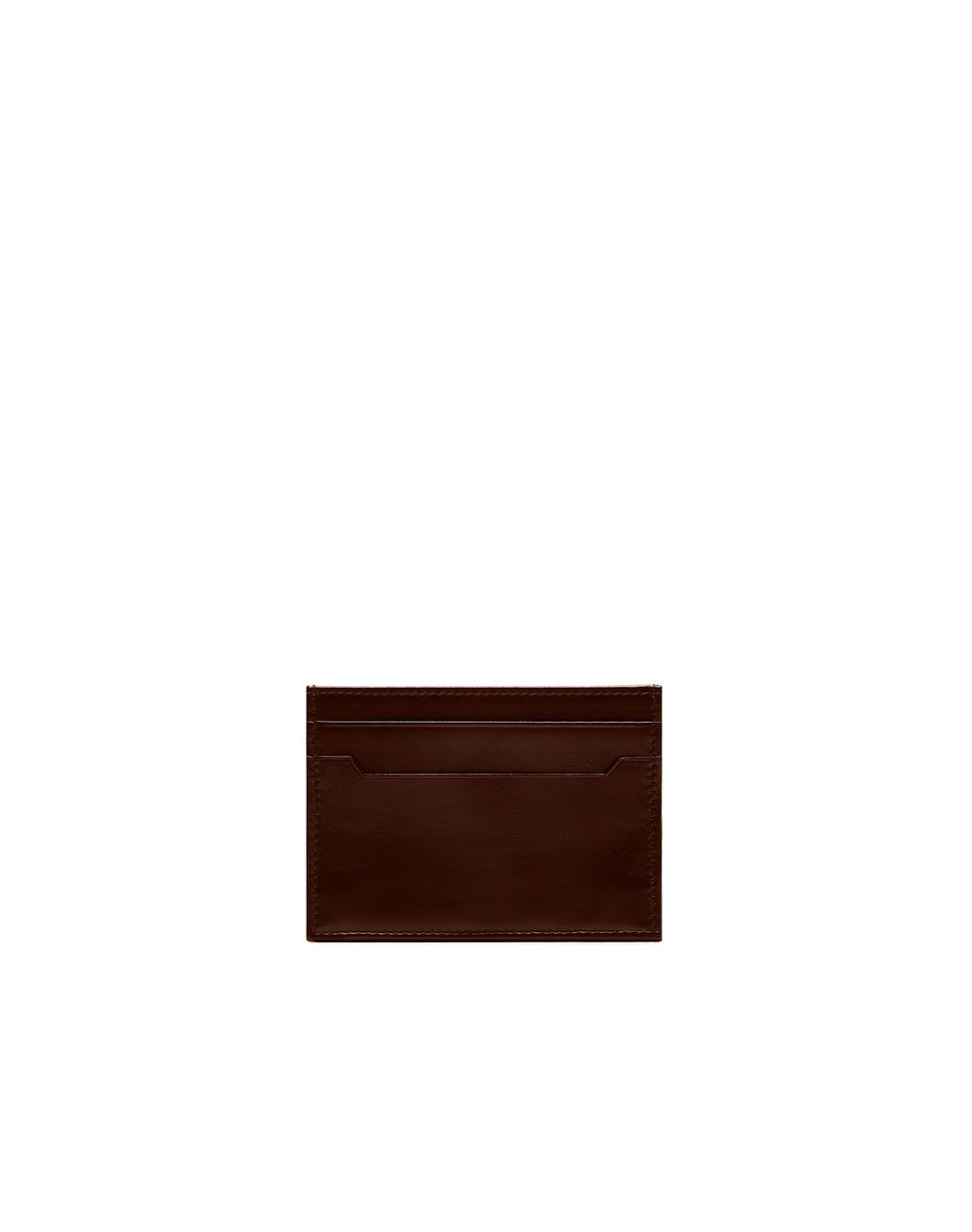 BRIONI Dark Brown Credit Cards Holder Card Cases & Coin Purses Man r