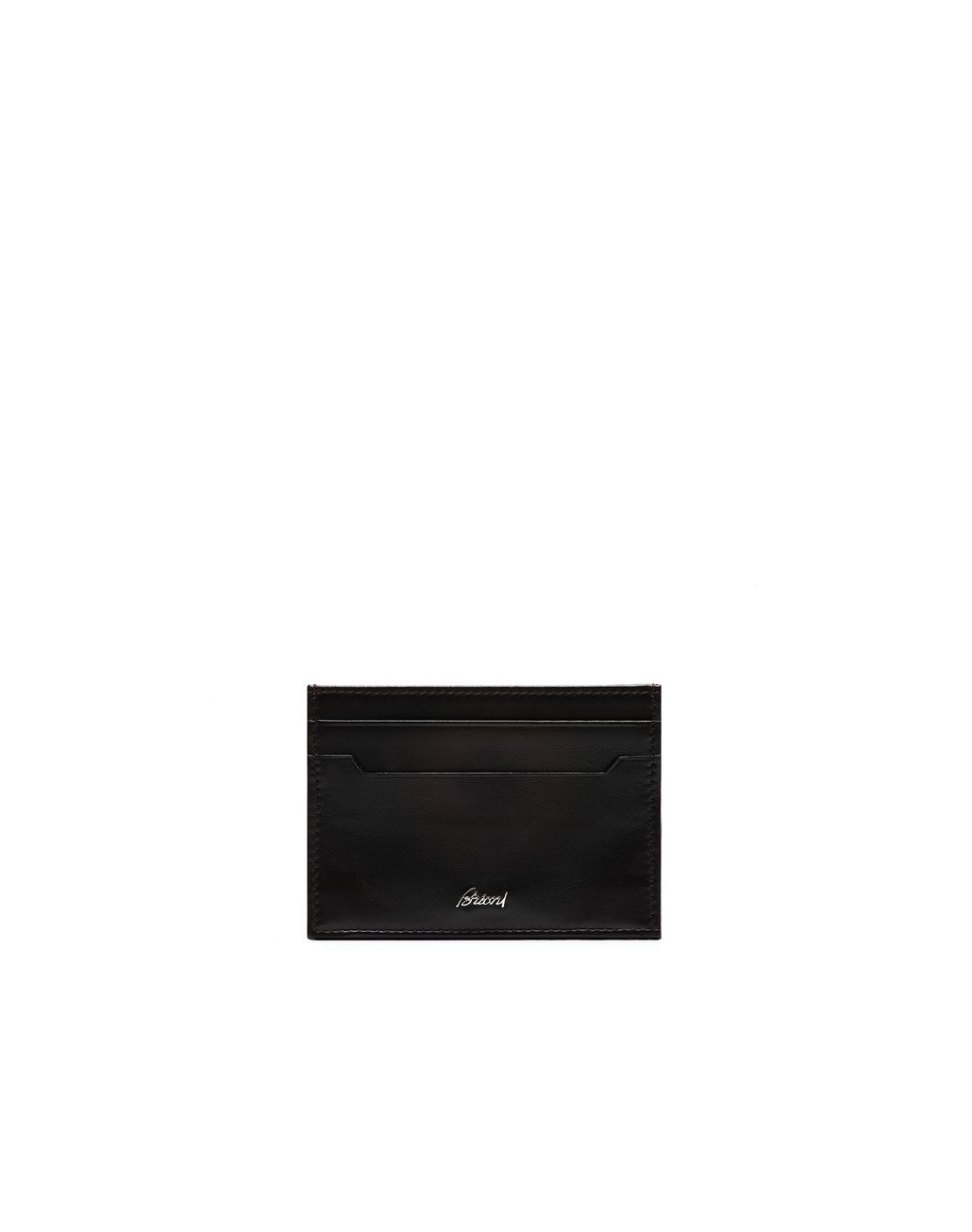 BRIONI Black Credit Cards Holder Card Cases & Coin Purses Man f