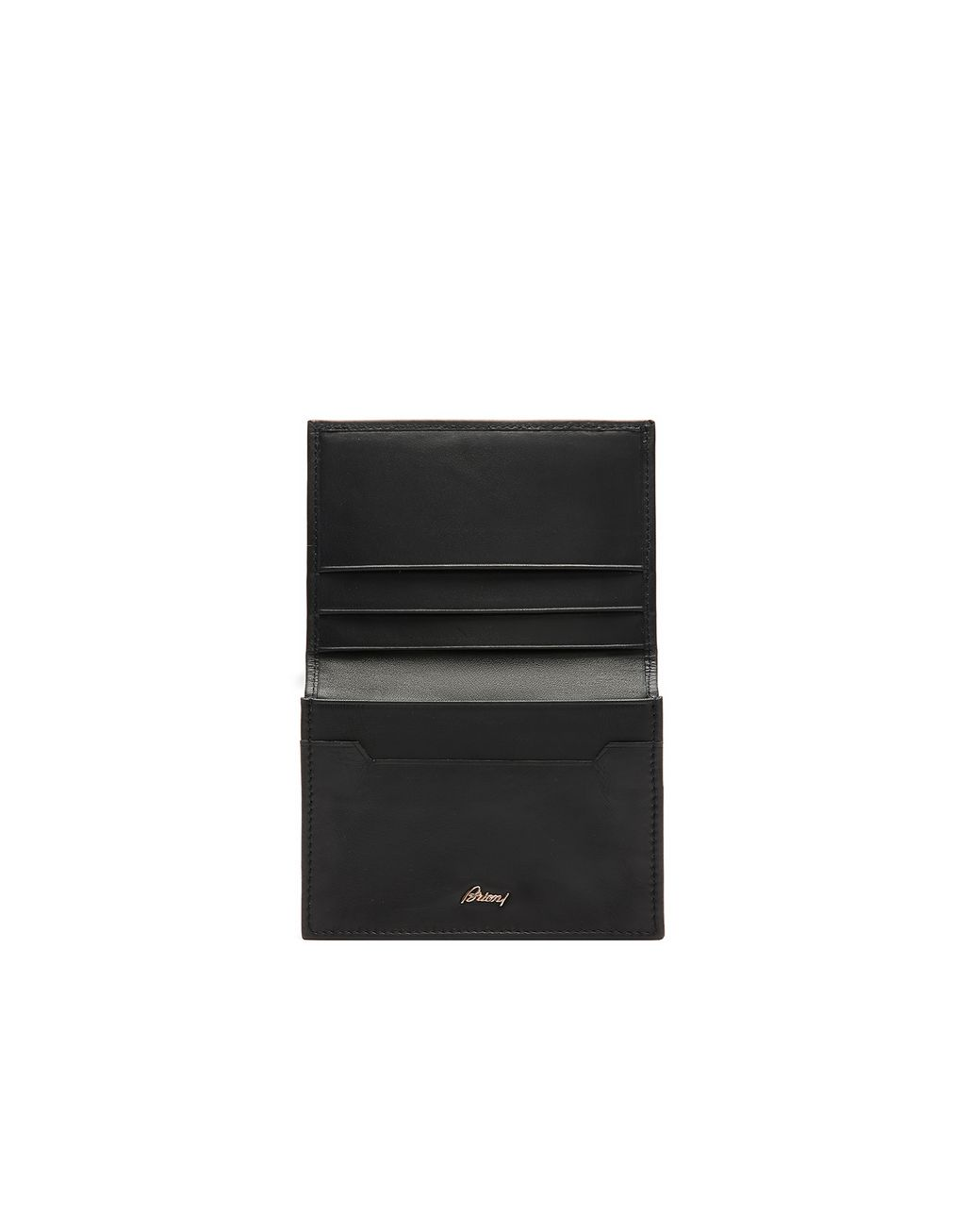 BRIONI Midnight Blue Business Card Holder Card Cases & Coin Purses [*** pickupInStoreShippingNotGuaranteed_info ***] r
