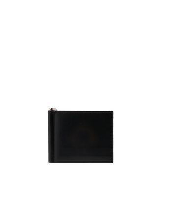 Schwarze Brieftasche mit Clip