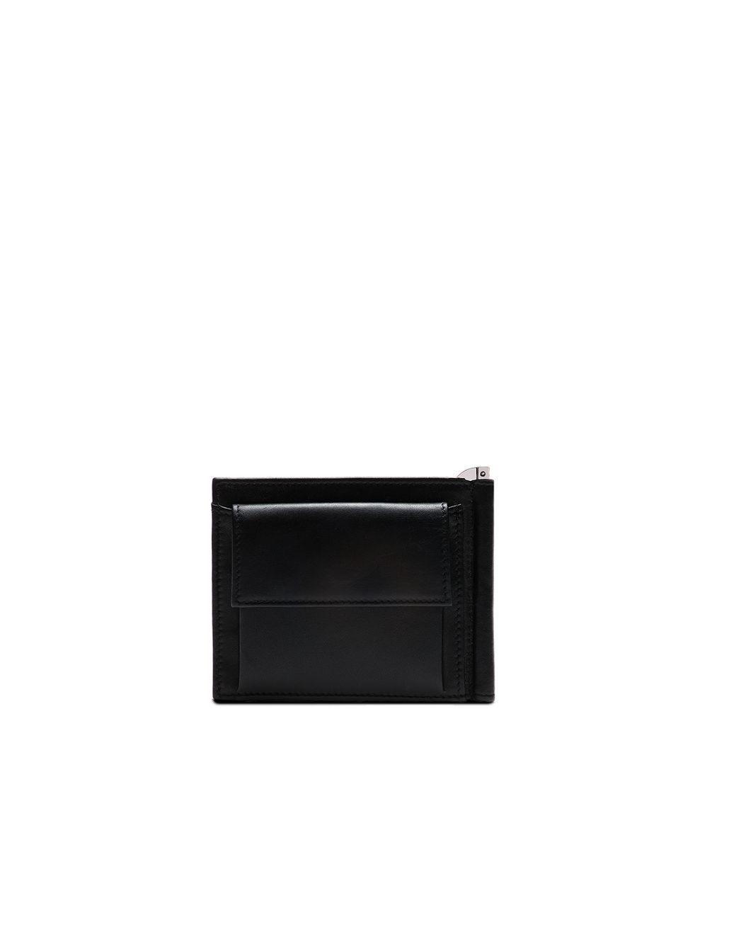 BRIONI Black Clip Wallet Wallet [*** pickupInStoreShippingNotGuaranteed_info ***] r