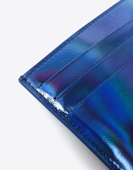 MAISON MARGIELA Laminated leather cardholder Credit card holder [*** pickupInStoreShippingNotGuaranteed_info ***] a