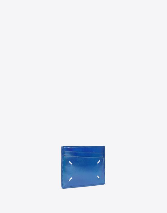 MAISON MARGIELA Laminated leather cardholder Credit card holder [*** pickupInStoreShippingNotGuaranteed_info ***] r