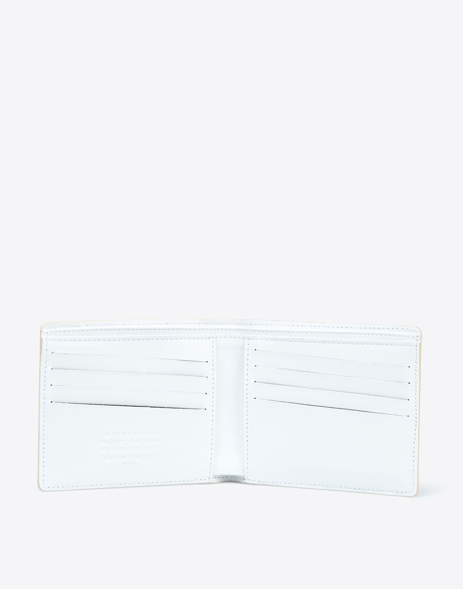 MAISON MARGIELA Laminated leather wallet Wallet Man d